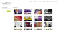 Cassaro Fabrics - e-commerce website implemented from scratch using Yii Framework. Complexe CMS implemented to manage collections and fabrics, inventory, stocks, orders, shipping and customers.