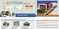 Real Estate website for Constructii Noi Cluj(PHP+Mysql+SEO)