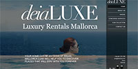 Deia Luxe Mallorca -  Luxury Rentals Mallorca. Complete CMS implemented from scratch to manage real estate properties(PHP,Mysql,JQuery).