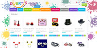Divertishop - e-commerce website, full optimized for search engine, responsive theme.