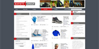 Safety Group - e-commerce website, creloaded customization with romanian language