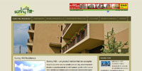 Sunny Hill Residence - Real estate website redesign (Joomla customization)
